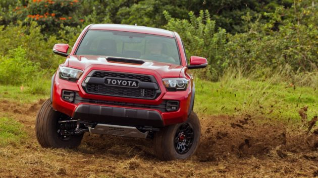 2017 Toyota Tacoma TRD Pro Price Colors Specs